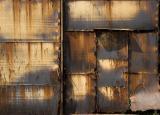 The rusted door