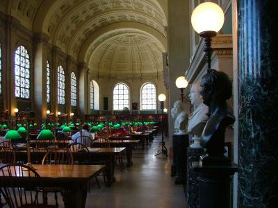 Public Library Reading Room