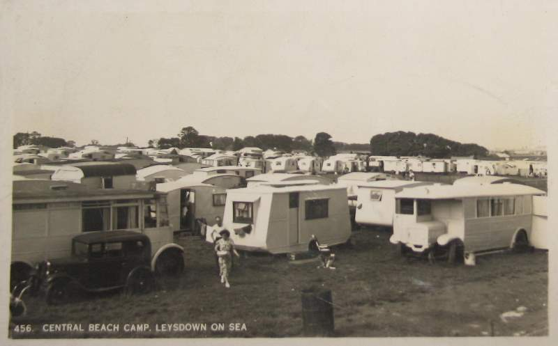 Central Beach, Leysdown 1951