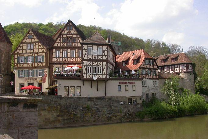 Häuser an der Henkersbrücke