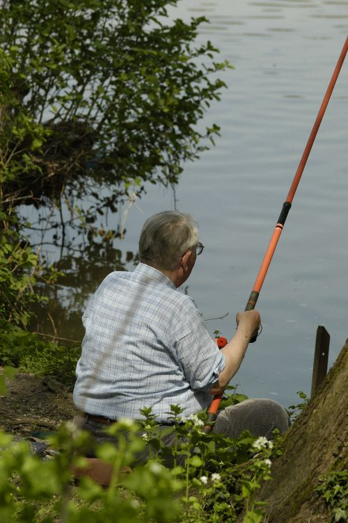 Angler am Kocher