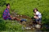 Au bord du ruisseau