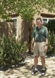 Pat at Campanilla in Santa Fe