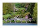 Crossing the bridge ~ Stourhead