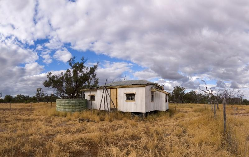 _DSC8928 landscape house bells outstation moorinya clouds panorama