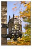 Autumn streetlight