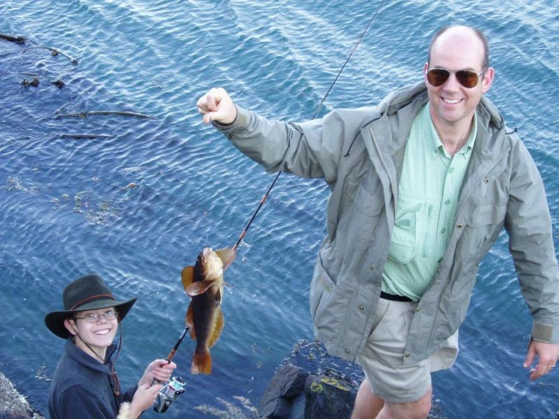 2005 May 28 Nathans fish, Marks guide service