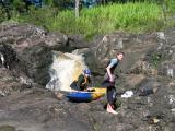 Rock Kayaking near Nambour