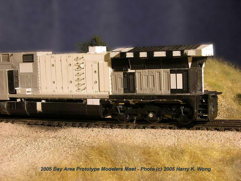 GE AC6000CW  Model by Clyde King photo - tracktime photos at