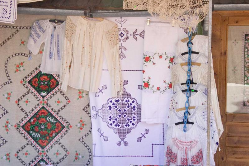 Embroidery stall