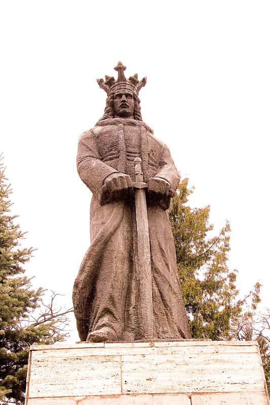 Statue of Stefan