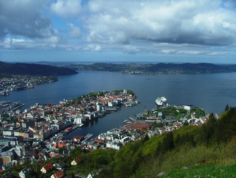 Bergen The Doorway to Norway - KNM Bergen -last visit