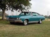 1969 Chevelle - Taken at SoCal Chevelle Camino show at El Dorado Park 7/20/2003