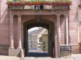 Entrée de ville , Riquewihr