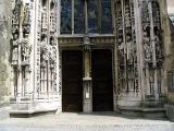 Porte de la cathédrale, Lausanne