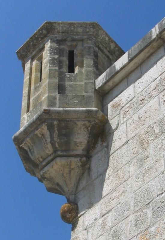 tourelle, Chateau de Joux