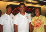 Friends of Aloha:  Maui Lifeguards/Water Safety Officers on AQ286:  Cary, Jeff & Tamara