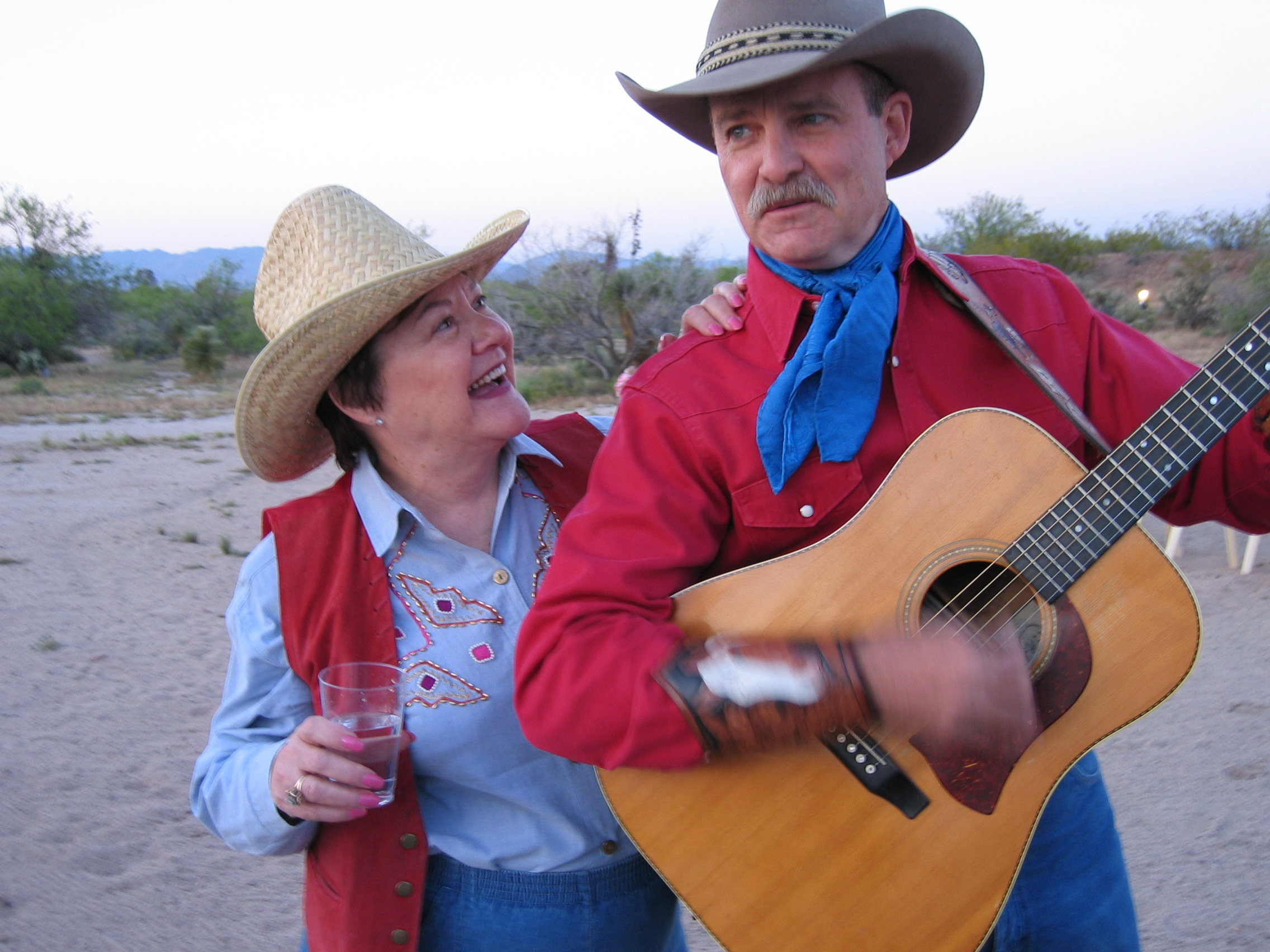 Reggie nabs the singing cowboy