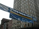 2003 BIKE NEW YORK starting line banner