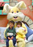 With the Easter Bunny 2003