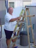 Curtis promoting ladder safety