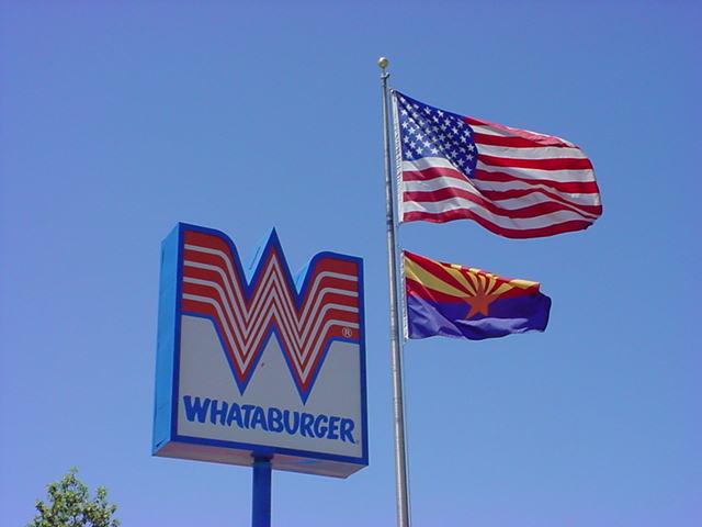 United States of America <br>Arizona and Whataburger