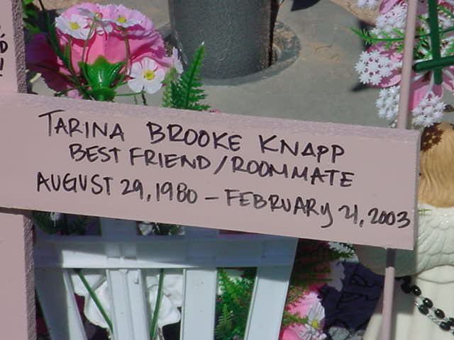Tarina Brooke Knapp BEST FRIEND / ROOMMATE