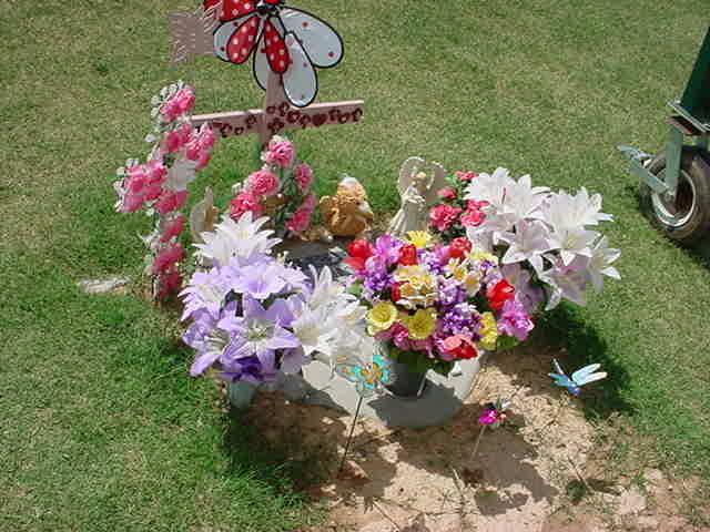 Tarina and beautiful flowers