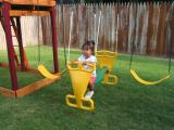 Anna's New Swing Set