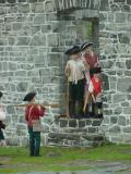 Fort Ticonderoga & reenactors at Crown Point.