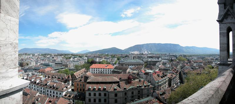 South from St-Pierres Cathedral - Geneva