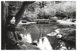 Nitobe Garden Pond 2 (B&W)