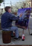 tim paints professor