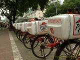 Pizza Hut delivery in China