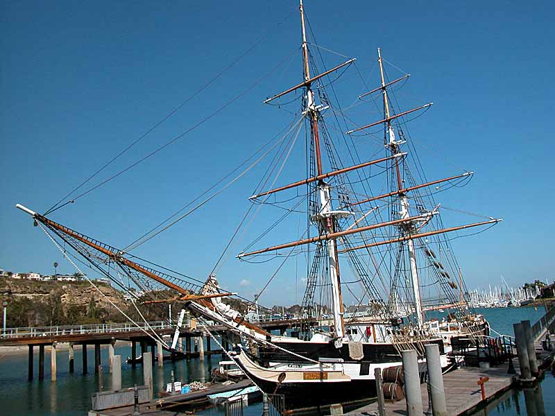 The Pilgrim tall ship, Dana Point, CA