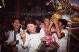 Celebration at Bawsang Wat.