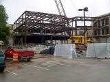Construction of an addition to Kent Hall - Kent State University 6-03