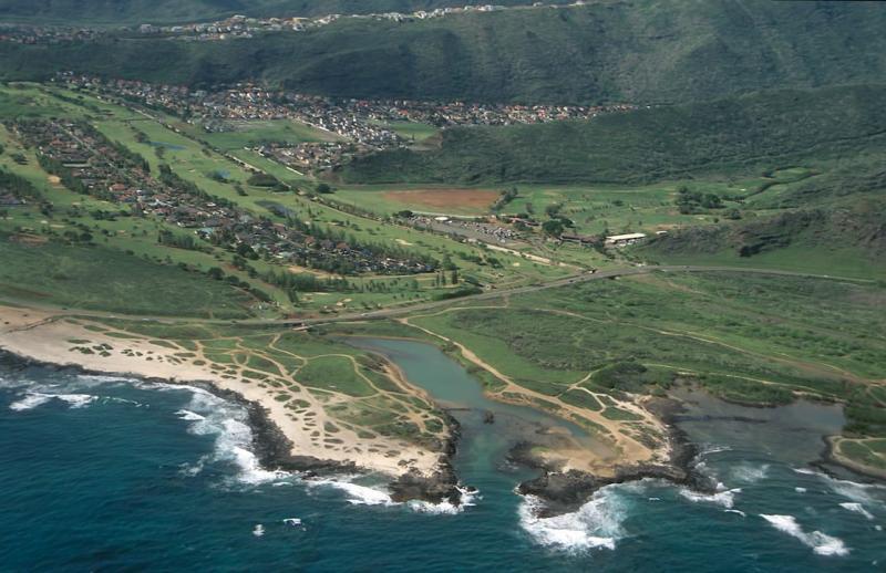 22-Kaiwi Coast, Hawaii Kai golf course and Queens Beach