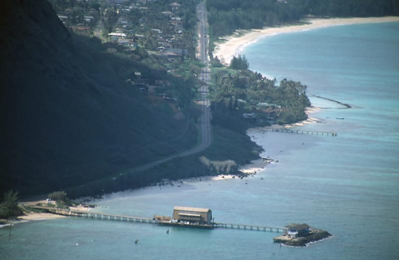 24-Makai Pier, Waimanalo Beach and Bay