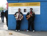 Amsterdam buskers