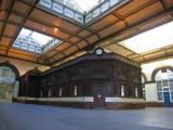 This booking office is no longer used, but retained for historical reasons. It may well be a listed building.
