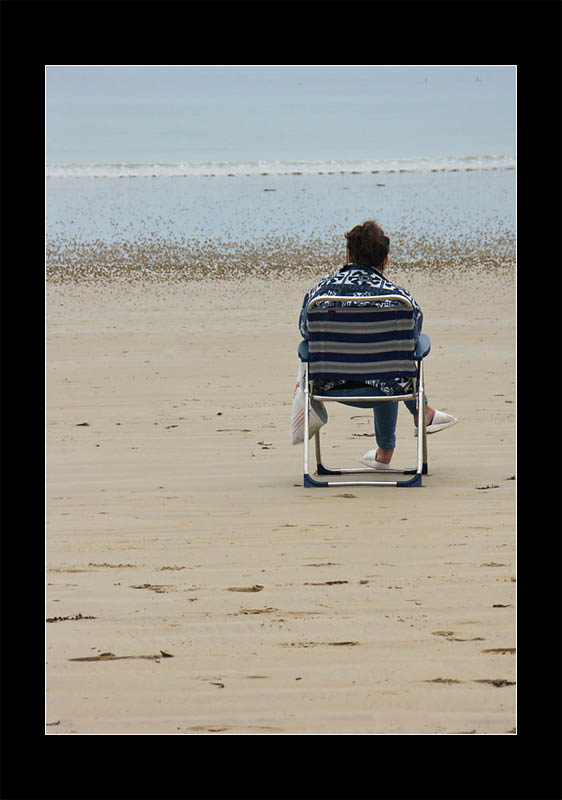 Enjoying the low tide