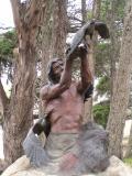Museum statue Morro Bay