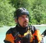 Francesco Lovascio del Gruppo Canoe Roma