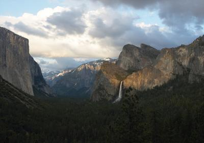 Dusk at Tunnel View