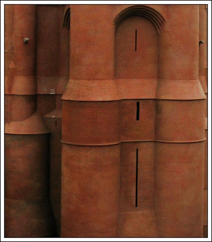 Détail de la cathédrale St Cécile dAlbi (miniature)