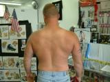 Pics of getting a tattoo's-shots by Elvis
