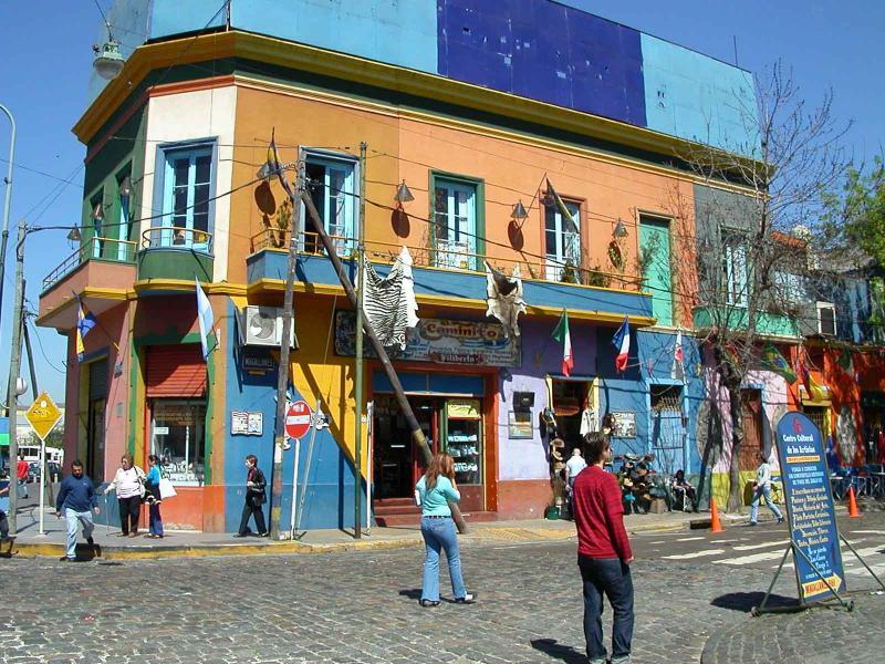 Buenos Aires - La Boca street