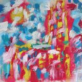 Oil - Huile série Cathedrales 2003-2004