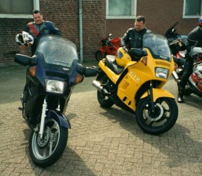 Purple & Yellow GTRs